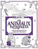Les Animaux fantastiques : livre de coloriage des Créatures Magiques...