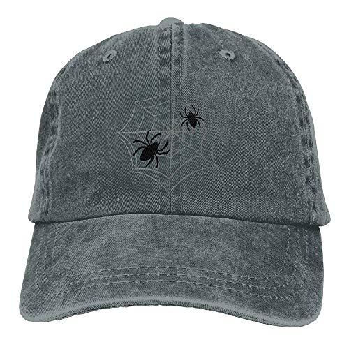 loween Spinne Web Design Mode Baumwolle Trucker Hüte Einstellbare Baseballmütze Für Outdoor-Sport Unisex20 ()