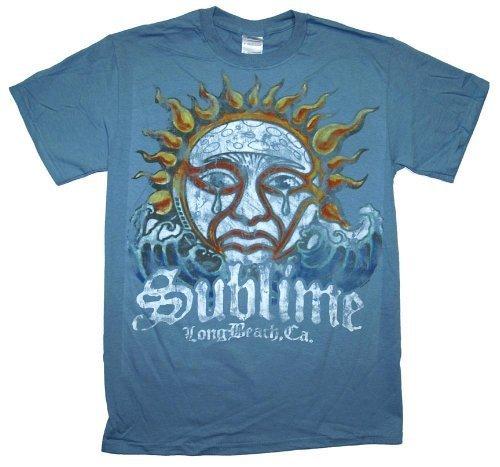 Sublime Blue Mens Sun T-Shirt - S
