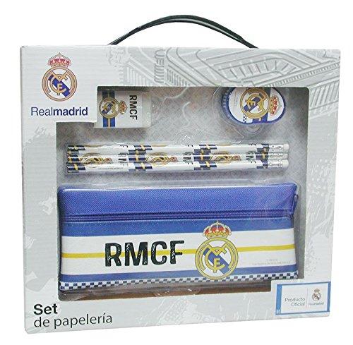 Real Madrid CF- Set papelería 6 Piezas (CYP GS-71-RM)