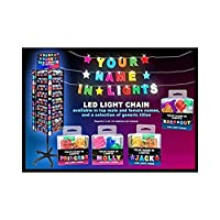 Royal County Products Your Name in Lights SAM LED Chain Lights NIL137