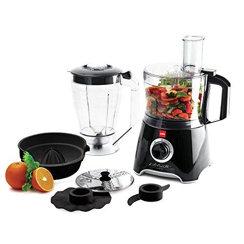 Cello Kitchen Chef KC-FP-200 500-Watt Food Processor (Black and white)