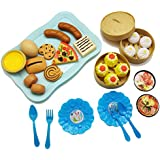 Baby Kitchen Food Toy, Kids Pretend Play Toy Set Children Educational Cooking Food Assortment Toy Set For Boys Girls