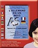 Deutsch in einem Monat - Für Franzosen