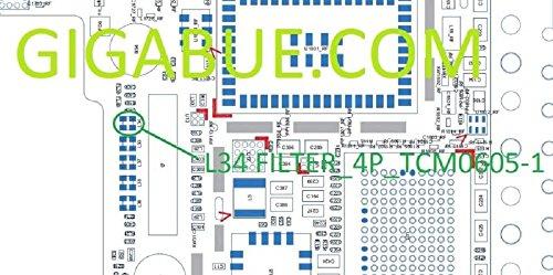 L34Square diplexers Coil Filter Cap IC Chip Filter _ 4P _ tcm0605-1Für iPhone 5 Diplexer Filter