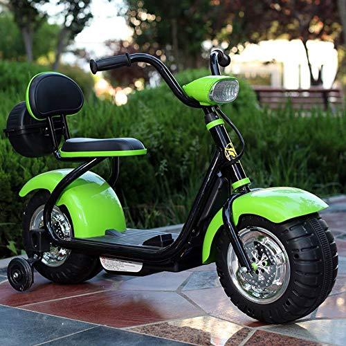rrad Kinder Fahrt Auf Motorrad 6 V Elektrische Batterie Roller Auto Fahrrad Spielzeug Jungen Balance Bike Push Along Walker mit Licht Sound for Kinder ab 3 Jahren Kinder Geschenk Pr ()