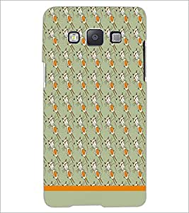 PrintDhaba Pattern D-1605 Back Case Cover for SAMSUNG GALAXY E5 (Multi-Coloured)