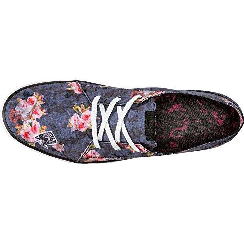 Volcom Lo Fi Shoe, Chaussures de Skateboard homme Angled bleach wash