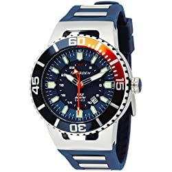 Torgoen Swiss Herren T23303 T23 Blau 200 ATM GMT Dive Watch