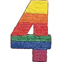 Amscan Pinatas Numbers 4