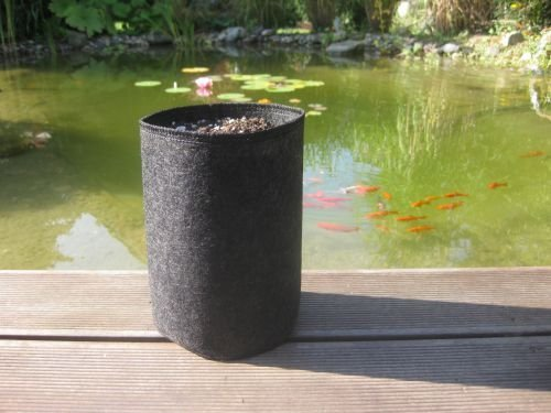 3,5 Liter – Ø 15 x 20cm Pflanzsack Grow Bag Blumentopf