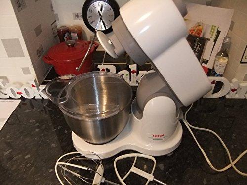 Tefal QB207138 700W 3.5L Color blanco - Robot de cocina (3,5 L, Color blanco, Acero inoxidable, 700 W)