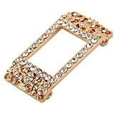 VAN-LUCKY Colorful Bling Jewelry Accessory Cover for Fitbit Charge2 Smart Watch Bands(ONLY bling accessory, NO TRACKERS, no wristband)