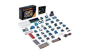 SunFounder - Kit con 37 Moduli Sensore per Raspberry Pi 3, 2 e B+ con manuale di utilizzo