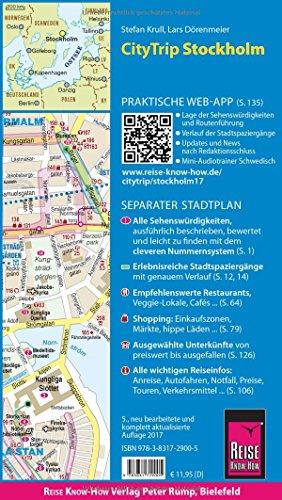 Reise Know-How CityTrip Stockholm: Reiseführer mit Faltplan und kostenloser Web-App: Alle Infos bei Amazon