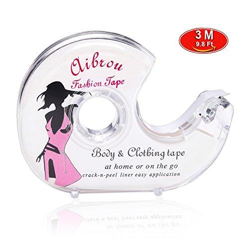 Fashion Body (Aibrou Fashion Tape Doppelseitiges Klebeband Unsichtbarer Kleber für Kleid Damen Bekleidung Body BH mit Tiefer V Ausschnitt)
