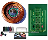Masters Traditional Games dal Negro Home Mahogany Roulette Bundle