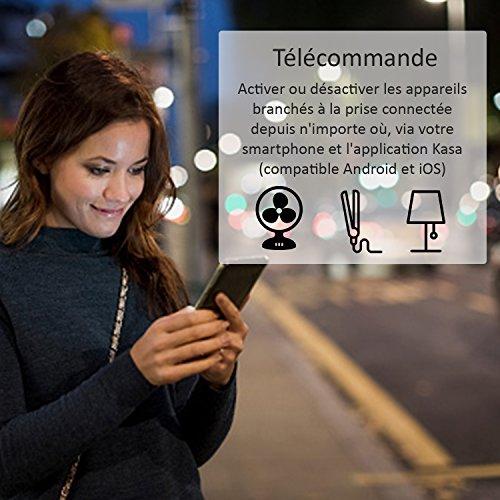 51Qlli5wUBL [Bon Plan Domotique] TP-Link HS100(FR) Prise connectée WiFi, Charge maximale 16A, compatible avec Amazon Alexa (Echo et Echo Dot), Google Assistant et IFTTT pour la commande vocale, aucun hub requis