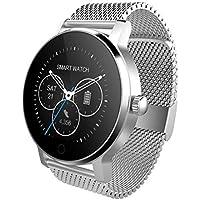 Eruditter 1.3Pulgadas Bluetooth Escuchar música Reproducción la frecuencia cardíaca supervisión Smart Watch