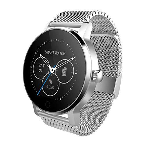 Preisvergleich Produktbild Miss-an SMA-09 1.28 Zoll Bluetooth-Anruf-Musik, die Herzfrequenz-Überwachungs-intelligente Uhr spielt