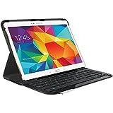 Logitech Type-S Etui-Folio avec Clavier AZERTY pour Samsung Galaxy Tab S 10.5 Noir (Tablette non incluse)