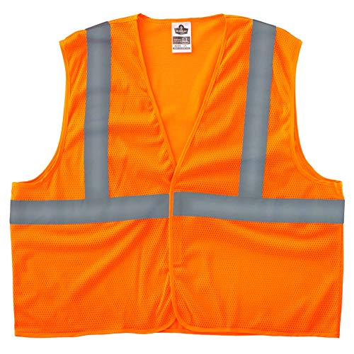 Ergodyne Glowear Klasse 2 Super Wirtschaft Weste, 8205HL Polyester Traffic Safety Vest
