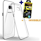 SAMSUNG GALAXY J3 2016 coque silicone Gel TPU + FILM PROTECTION Ecran en VERRE Trempé Galaxy J3 ...