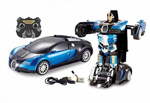 Webby Bugatti Style Transformer Toy Car, 1:24