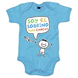Body bebé Soy el sobrino mas chachi - Celeste, 12-18 meses