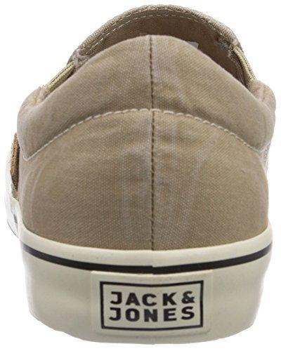 JACK & JONES JJSurf Cotton Loafer Cornstalk Herren Sneakers Beige (Cornstalk)