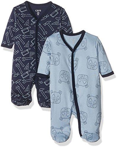 Care Baby-Jungen Spieler 4136, 2er Pack, Mehrfarbig (Royal Blue 750), 62