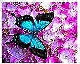 YMYGG Kit per Diamond Painting,Pittura a Mosaico Fai-da-Te 5D,Pittura Diamante,Motivo Ragazza del Diavolo Angelo,Ricamo con Strass,Decorazione in Tela Fai-da-Te da Parete