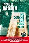 Nu couché sur fond vert par Jacques Bablon