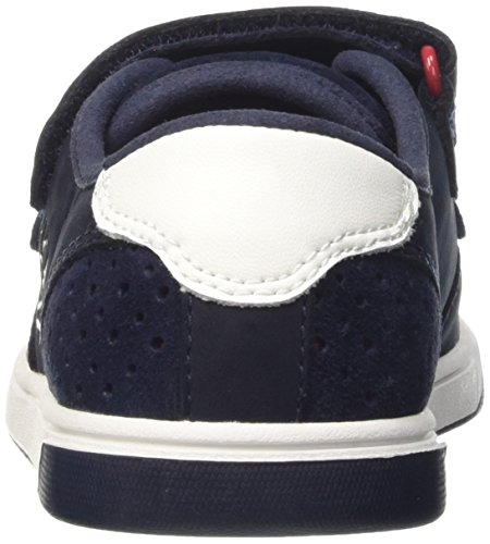 Timberland Groveton_Groveton Plain Toe Oxford, Sneakers basses mixte enfant Bleu (Navy)