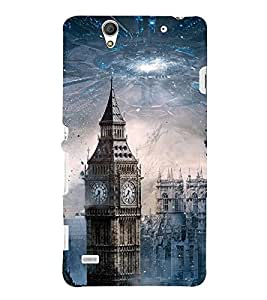 BIG BEN SCIENCE FICTION MOVIE PIC 3D Hard Polycarbonate Designer Back Case Cover for Sony Xperia C4 Dual E5333 E5343 E5363 :: Sony Xperia C4 E5303 E5306 E5353