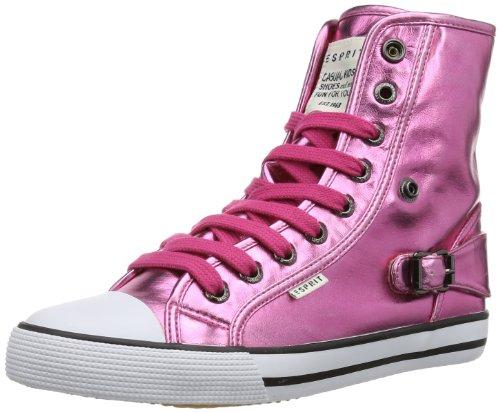 ESPRIT Benny Metal Hi 024EKKW029 Mädchen Sneaker Pink (sea rose 693)