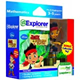 Leapfrog Explorer Learning Game Disney Jake and The Neverland Pirates with Free Collectible Toy