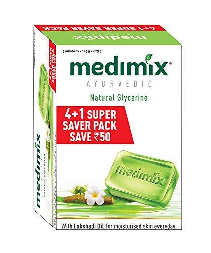 Medimix Ayurvedic Glycerine Soap, 125g...