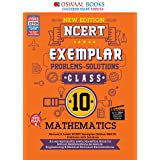 Oswaal NCERT Exemplar (Problems - solutions) Class 10 Mathematics Book (For 2022 Exam)