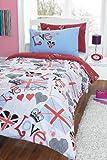 Punk Rocker Double Bed Novelty Duvet Cover Set
