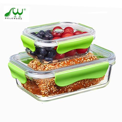 seleware-vetro-impilabili-contenitori-di-cibo-con-coperchi-a-chiusura-ermetica-bpa-grande-bento-lunc