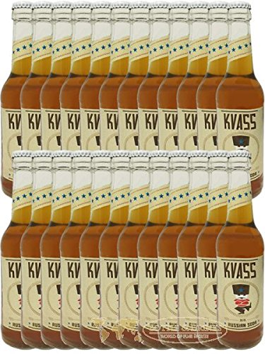 Soda-24 Pack (Kvass Russian Soda 24er Pack (24 mal 0,33l Flasche))