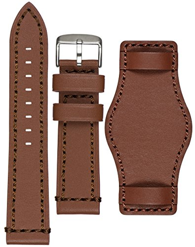 Astroavia Herren Leder Armband Uhrenarmband mit Unterlage L6U6