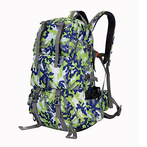Outdoor Wasserdicht Leicht Rucksack Beruflich Bergsteigen Reisen Tasche Camouflage