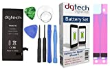 DigitalTech - Batterie compatible iPhone 6 haute capacité avec outils. 3.82v 1810 mAh. Compatible avec tous les APNs.