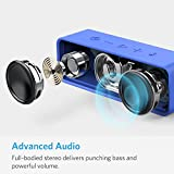 Anker SoundCore Bluetooth Speaker Portable Bluetooth 4.0 Stereo Speaker with 24-Hour Playtime, 6W Dual-Driver, Low Harmonic Distortion, Patented Bass Port and Built-in Microphone for Calls