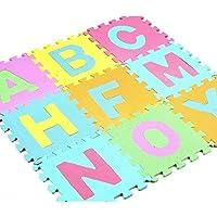 Preisvergleich für Spielmatten-Set Fliesen-Boden-Schaum-Teppich-Puzzlespiel-Matten-kriechende Fußboden-Matten-Buchstaben Toy Set