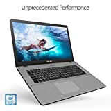 "ASUS VivoBook Pro 17 Thin and Portable Laptop, 17.3"" FHD, 8th Gen Intel Core i7-8565U Processor, NVIDIA GeForce GTX 1050, 16GB DDR4 RAM, 256GB SSD + 1TB HDD, Backlit Keyboard, Windows 10 - N705FD-ES76"