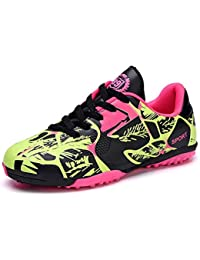 f5dbe603d Amazon.es  botas de futbol para niños - Rosa  Zapatos y complementos