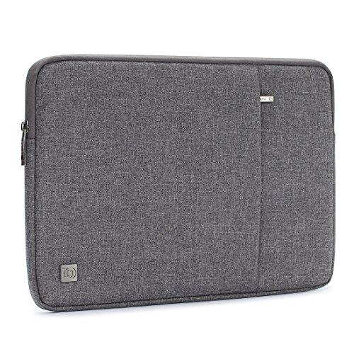 Acerca de Producto:  esta manga portátil es delgada y ligera, puede deslizar fácilmente en su maletín, mochila u otra bolsa.  La cremallera de carga superior permite un acceso rápido a su computadora y proporciona seguridad que asegura que su comput...